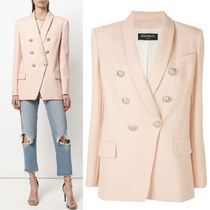 18SS BAL226 OVERSIZED DOUBLE BREASTED WOOL BLAZER