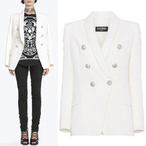 18SS BAL229 OVERSIZED DOUBLE BREASTED WOOL BLAZER