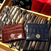 Tory Burch★クロコ調カードケース★PARKER EMBOSSED CARD CASE