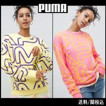 【PUMA】All Over Logo 全面 ロゴ デザイン スウェット 2カラー