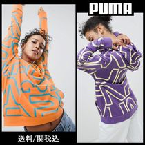 【PUMA】All Over Logo 全面 ロゴ デザイン パーカー 2カラー ♪