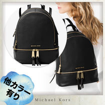 【MICHAEL KORS】Rhea Medium Leather Backpack バックパック