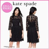 kate spade◆レースワンピース◆poppy lace fit and flare dress