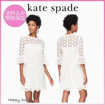 kate spade◆レースワンピース◆bloom flower lace dress