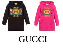 国内発送GUCCI  Cotton Sweatshirt Dress 関税込