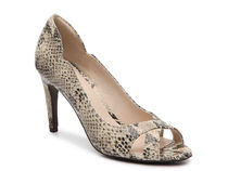 セール☆COLE HAAN Jacinda Open Toe Pump(スネーク)