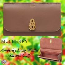 Mulberry☆Amberley Long Wallet -Smooth Calf- 長財布