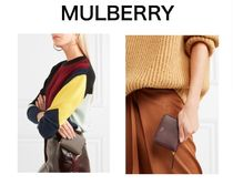MULBERRY Textured-leather wallet