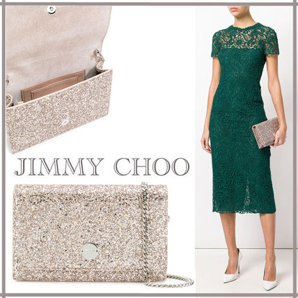 【18SS】Jimmy Choo☆FLORENCE クロスボディバッグ BALLET PINK