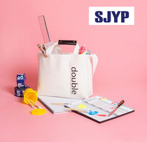 SJYP(エスジェイワイピ) エコバッグ ☆sjyp☆  ONE DOUBLE TRIPLE BAG_DOUBLE 多機能マザーズバッグ