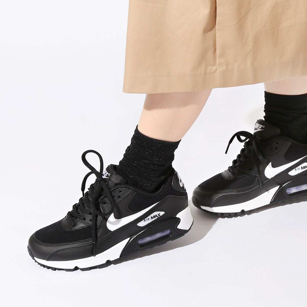 Nike AIR MAX 90 Casual Style Street Style Low Top Sneakers