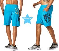 【ZUMBA】ズンバ Dancing Warrior Cargo Shorts(Blue)Z2B00157