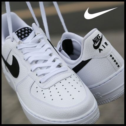 国内発送☆ナイキ NIKE AIR FORCE 1 07 / ★★★★★WHITE/BLACK