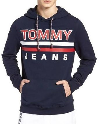 ☆Tommy Hilfiger☆ Essential Graphic プリント  フーディ☆