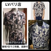 【Louis Vuittonパリ店】着心地良ハワイアンシャツ各種 追跡付
