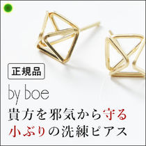 【by boe】スクエアピアス