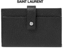 ★関税負担★SAINT LAURENT★Full-Grain Leather Cardholder