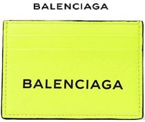 ★関税負担★BALENCIAGA★PRINTED NEON LEATHER CARDHOLDER