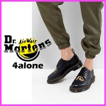 Dr Martens☆Joyce Flat Lace Up Shoes with Leopard Heart
