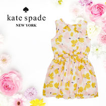 Kate Spade ケイトスペード Girl's Floral Ruffle ワンピース