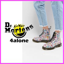 Dr Martens☆Pascal Lace Up Boot with Floral Print