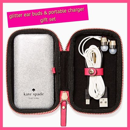 kate spade / 充電器&イヤホンセット / keep it together set