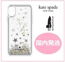 【国内発送】Silver Gold Foil Stars iPhone iPhone X
