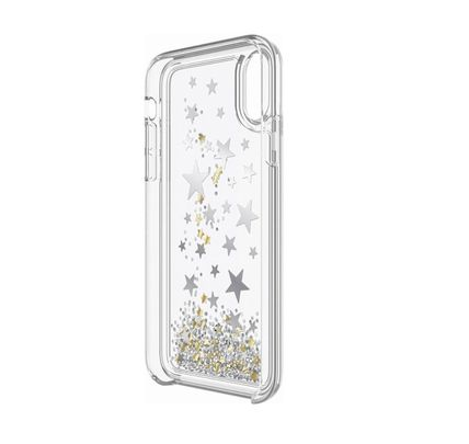 kate spade new york iPhone・スマホケース 【国内発送】Silver Gold Foil Stars iPhone iPhone X(2)