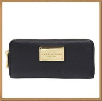 【Marc by Marc Jacobs】Logo Steel Long Wallet Black