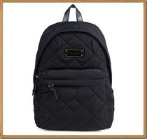 【Marc by Marc Jacobs】Quilted Nylon Small Backpack Black