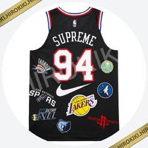 S/Mサイズ★Supreme Nike NBA Teams Authentic Jersey ナイキ 黒