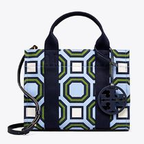 Tory Burch PRINTED MINI TORY TOTE