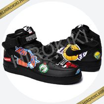 27.0〜28.5cmまで★Supreme Nike NBA Teams Air Force 1 Mid 黒