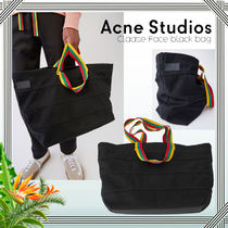 ∴Acne Studios∴Claase Face コットントートバッグ