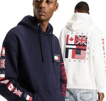 *Tommy Jeans*フラッグ ロゴ パーカー Fleece Flag Hoodie
