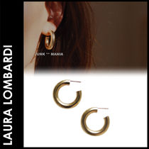 ★追跡&関税込【Laura Lombardi】Medium Hoop Earring/ピアス
