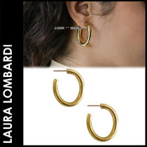 ★追跡&関税込【Laura Lombardi】MINI CURVE EARRING/ピアス