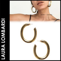 ★追跡&関税込【Laura Lombardi】CURVE EARRINGS/ピアス