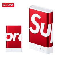 WEEK5★SS18 Supreme(シュプリーム)ポータブル充電器(小)ーred