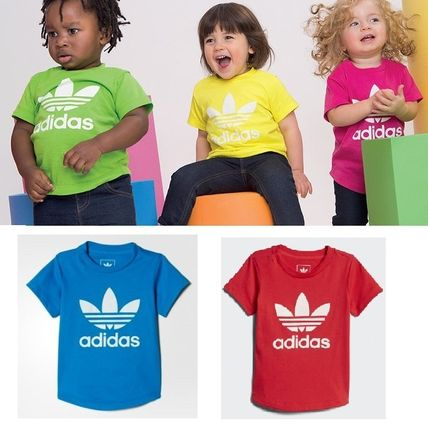 adidas キッズ用トップス ADIDAS KIDS ORIGINALS☆360 Supercolor Tee Tシャツ 5色