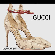 lovely♪◇Gucci Invite Print パンプス◇GUCCI