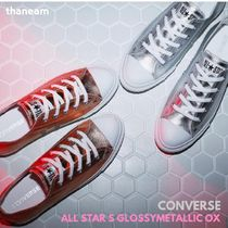 ★CONVERSE★ALL STAR S GLOSSYMETALLIC OXグロッシーメタリック