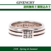 18SS関税込★GIVENCHY(ジバンシイ)4G double row band リング