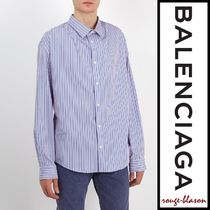 【国内発送】Balenciaga シャツ Micro-striped casual shirt