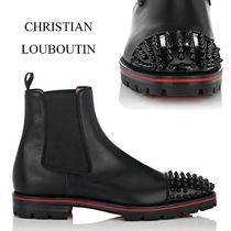 半額以下!Christian Louboutin Melon Spikes ブーツ 3170926