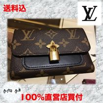Vuitton/コンパクト財布/Flower Compact Wallet Monogram