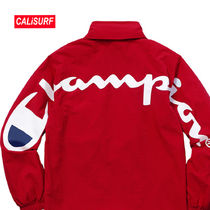 WEEK5★Supreme(シュプリーム)x Champion Track Jaket/RED-S