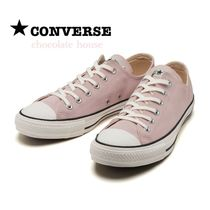 【CONVERSE】コンバース SUEDE ALL STAR OX スエード ピンク