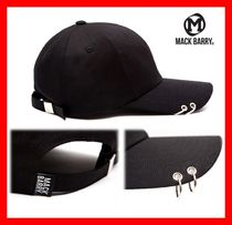 MACK BARRY(マクべーリ) キャップ ☆韓国の人気【MACK BARRY】☆ MACK CURVE RING CAP ☆UNISEX☆