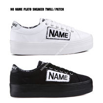 NO NAME★PLATO SNEAKER TWILL PATCH★ロゴ★ペイズリー柄★2色